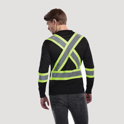 Lookout Long Sleeve High Vis T-Shirt [S05970]