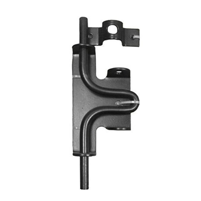 Nuvo Iron Wooden Gate Slide Bolt Latch SBL - Black