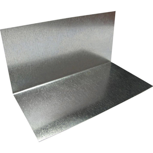 "Metal Roof Step Flashing 3"" x 3.5"" x 8"" Galvanized"