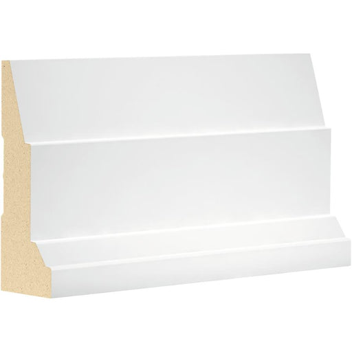 "Step Bevel Casing MDF 3/4"" x 3-1/2"" x 16' (Price per ft)"