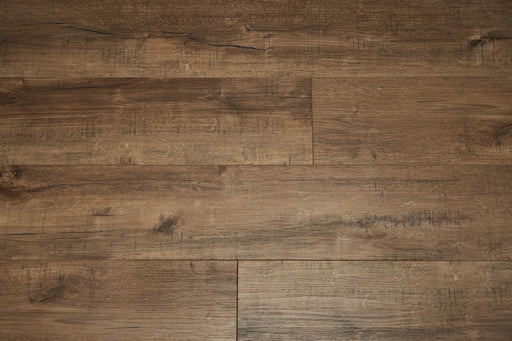 Aquaplus Vinyl Plank - Tiger Brown - 4mm - 7mm (price per sq.ft)