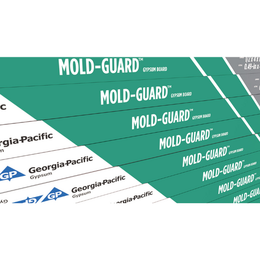 ToughRock® Mold-Guard™ Gypsum Board - 4' x 8' x 1/2''
