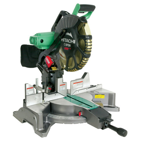 "Hitachi - C12FDH 12"" Dual Compound Miter Saw with Laser Marker"