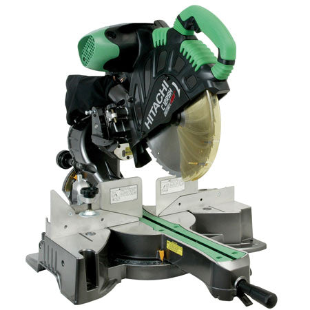 "Hitachi - C12RSH 12"" Sliding Dual Compound Mitre Saw Featuring New Slide Technology"