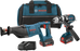 Bosch - CLPK203-181 18 V 2-Tool Kit with 1/2 In. Brute Tough™ Hammer Drill/Driver and Reciprocating Saw