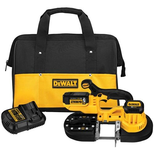 DEWALT -DCS371P1 20V MAX* LITHIUM ION BAND SAW KIT