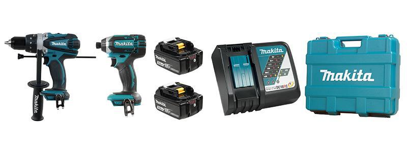 Makita - DLX2005M 2 Piece Cordless Combo Kit