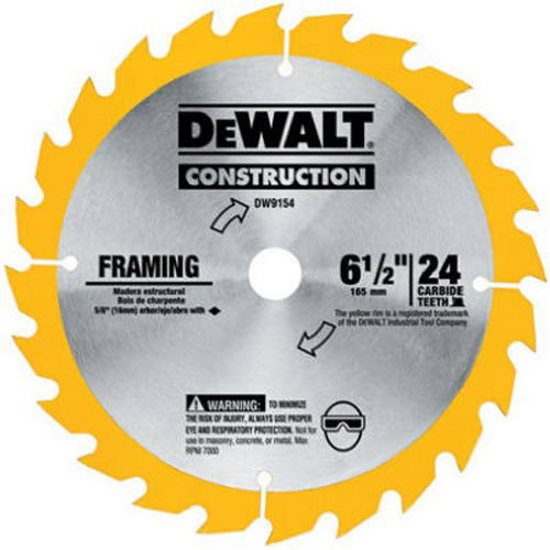 DEWALT DW9154 Framing Saw Blade