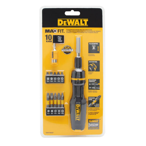 DEWALT Multi-Bit Screwdriver DWHT66567