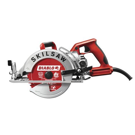 "SKILSAW 7-1/4"" Lightweight SKILSAW Worm Drive with Diablo Carbide Blade [SPT77WML-22]"