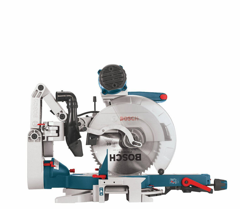 Bosch - 12 In. Dual-Bevel Glide Miter Saw- GCM12SD