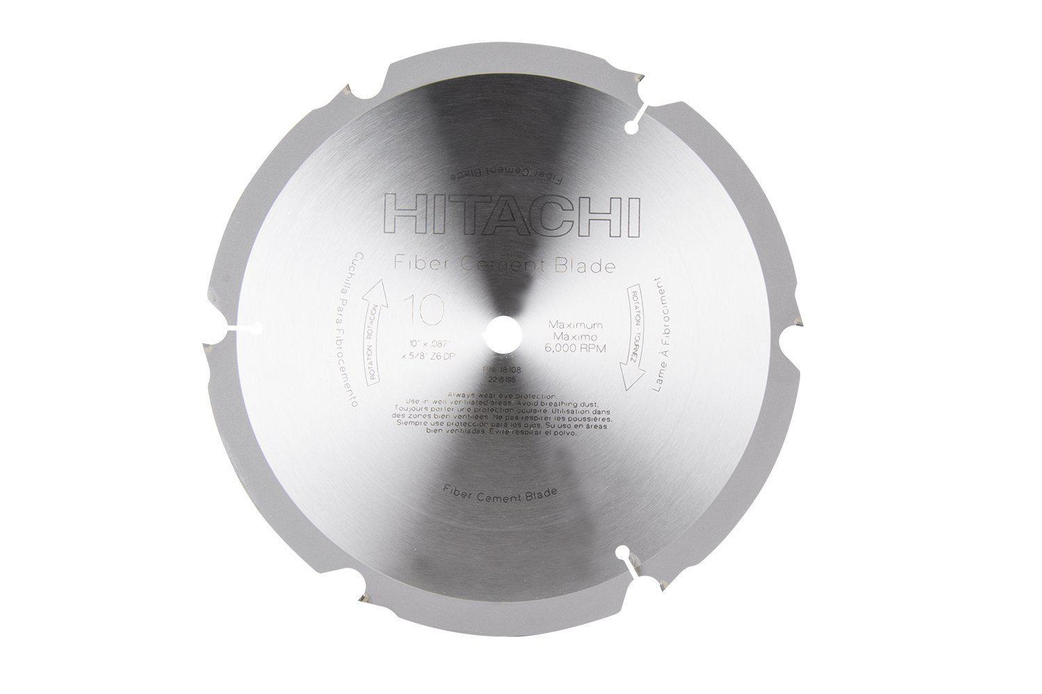 Hitachi 18108  Cement Cutting Blade