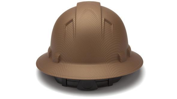 PYRAMEX- RIDGELINE COPPER FULL BRIM 4-POINT RATCHET HARD HAT - HP54118