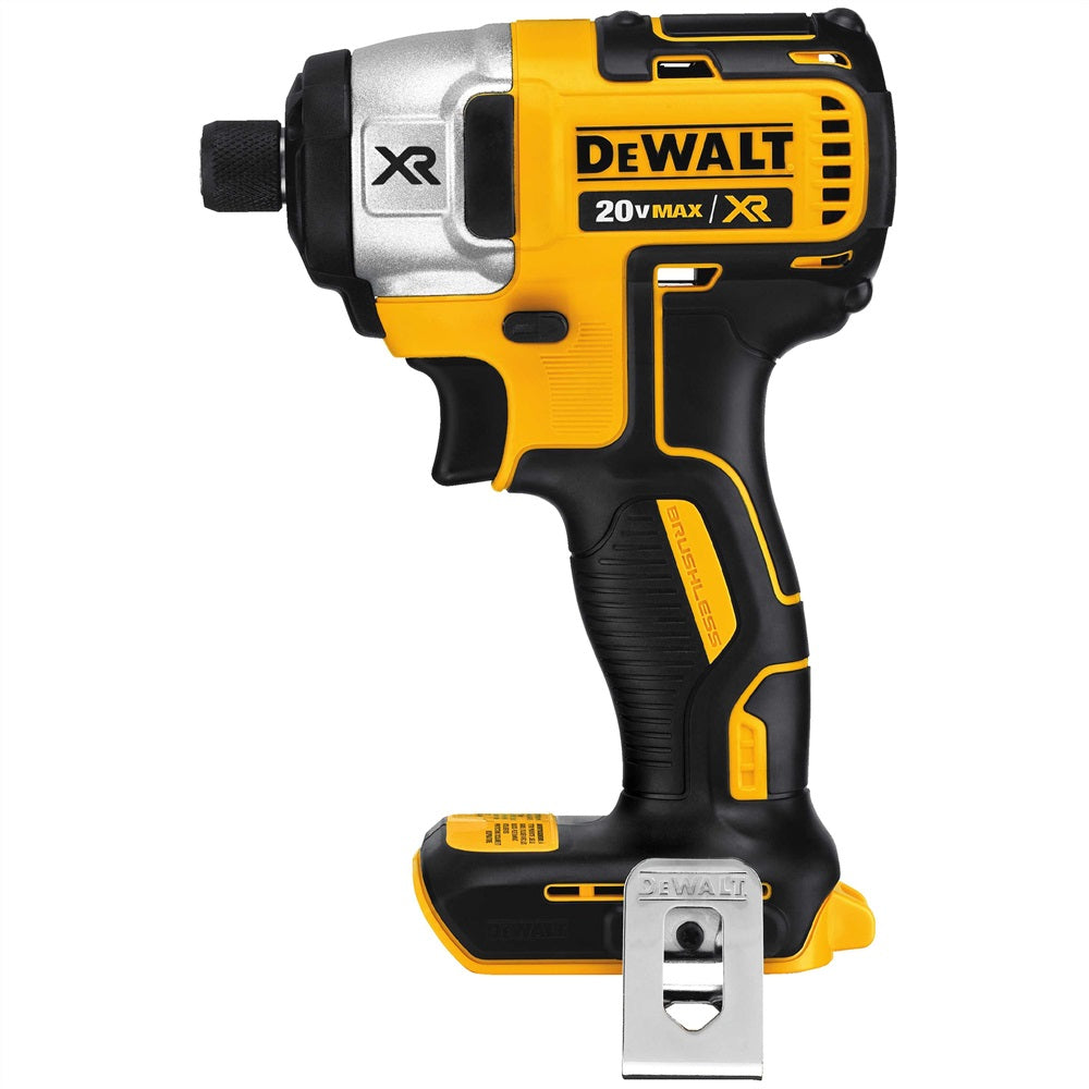 "Dewalt - DCF886B 20V MAX* XR Lithium Ion Brushless 1/4"" Impact Driver (Tool Only)"