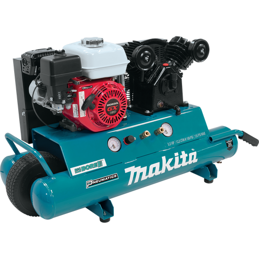 Makita MAC5501G 5.5 H.P Gas Power Air Compressor