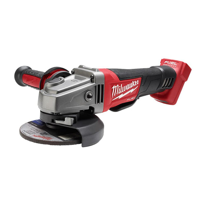 Milwaukee M18 FUEL 18-Volt Lithium-Ion Brushless Cordless 4-1/2 in. / 5 in. Grinder with Paddle Switch [2780-20]