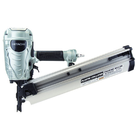 "Hitachi - NR90AE(S1) Round Head Framing Nailer, 2"" to 3-1/2"