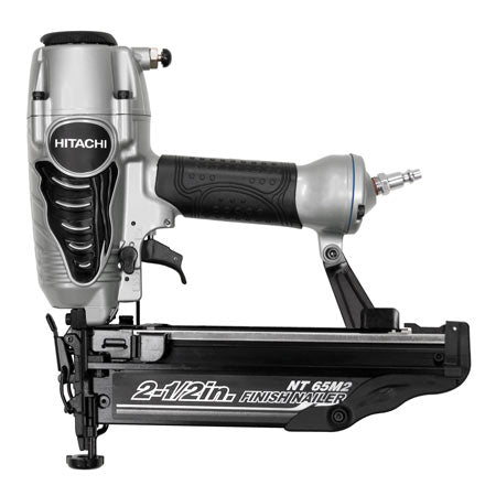 "Hitachi - NT65M2 2-1/2"" 16-Gauge Finish Nailer with Integrated Air Duster"