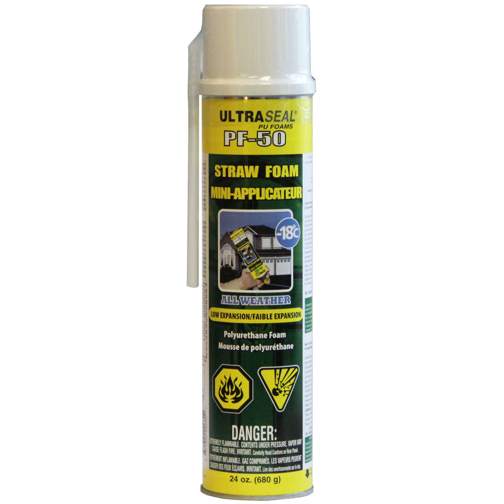 UltraSeal PF-50 Extreme Weather Straw Foam
