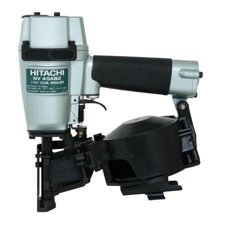 Hitachi - NV45AB2 Roofing Nailer, Coil, Wire Collation