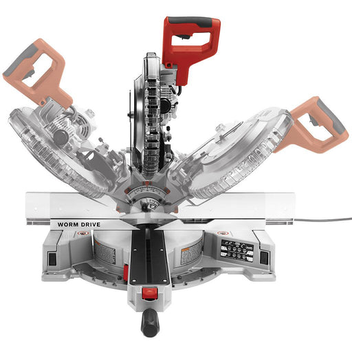 SKILSAW 12 In. Worm Drive Dual Bevel Sliding Miter Saw [SPT88-01]