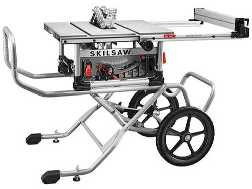SKILSAW 10 In. Heavy Duty Worm Drive Table Saw With Stand [SPT99-12]