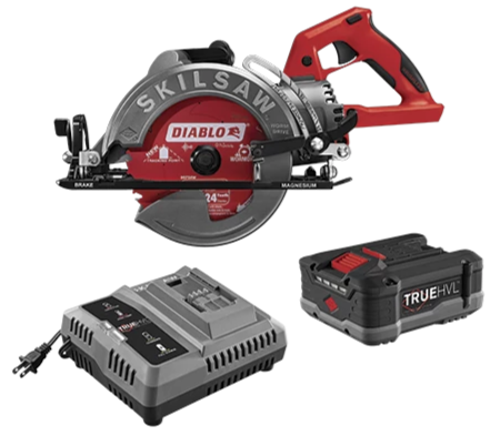 SKILSAW 7-1/4 in. TRUEHVL™ Cordless Worm Drive Saw Kit [SPTH77M-12]