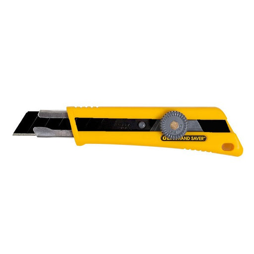 OLFA 18mm Rubber Grip Ratchet-Lock Utility Knife