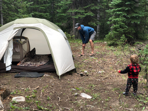 Growing Goats goes camping with kids