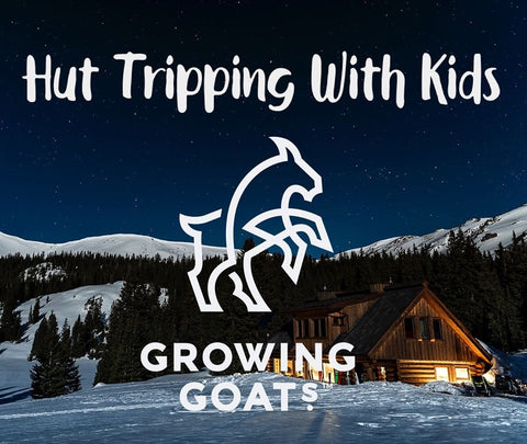 Hut tripping with kids in tow