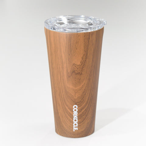 Growing GOATs 16 oz Corkcicle Tumbler - Walnut Wood Travel Mug