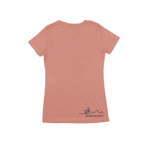 Find Your Mountain and Climb It -- Ladies Tee