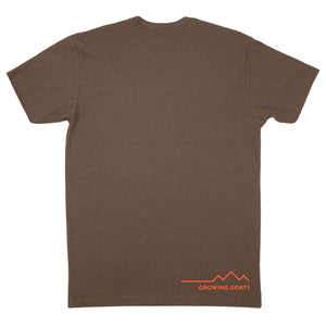Find Your Mountain and Climb It -- Mens Tee