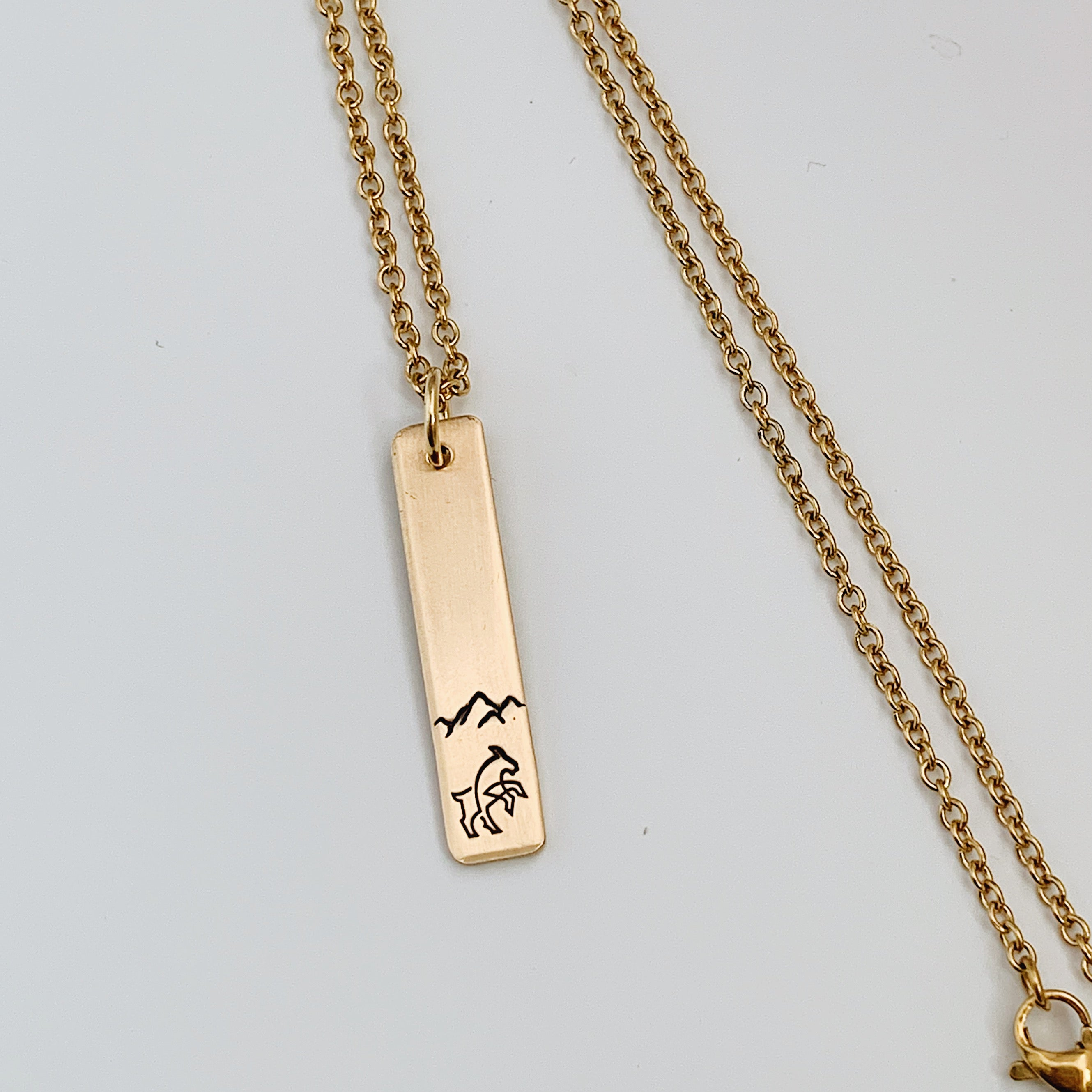 Sky is the Limit -- Bar Necklace