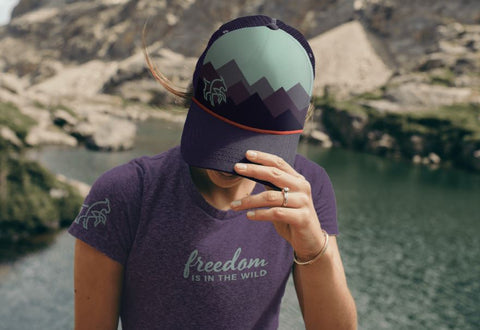 Freedom is in the Wild -- Ladies Tee