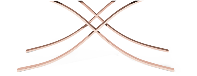 curule rose gold