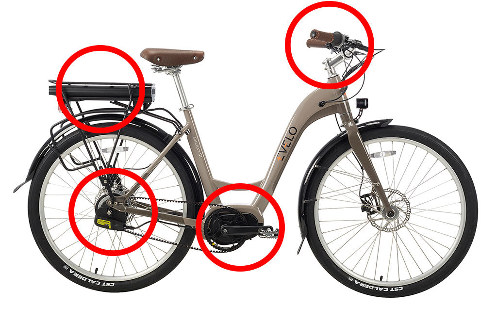 Image of an EVELO electric bike.