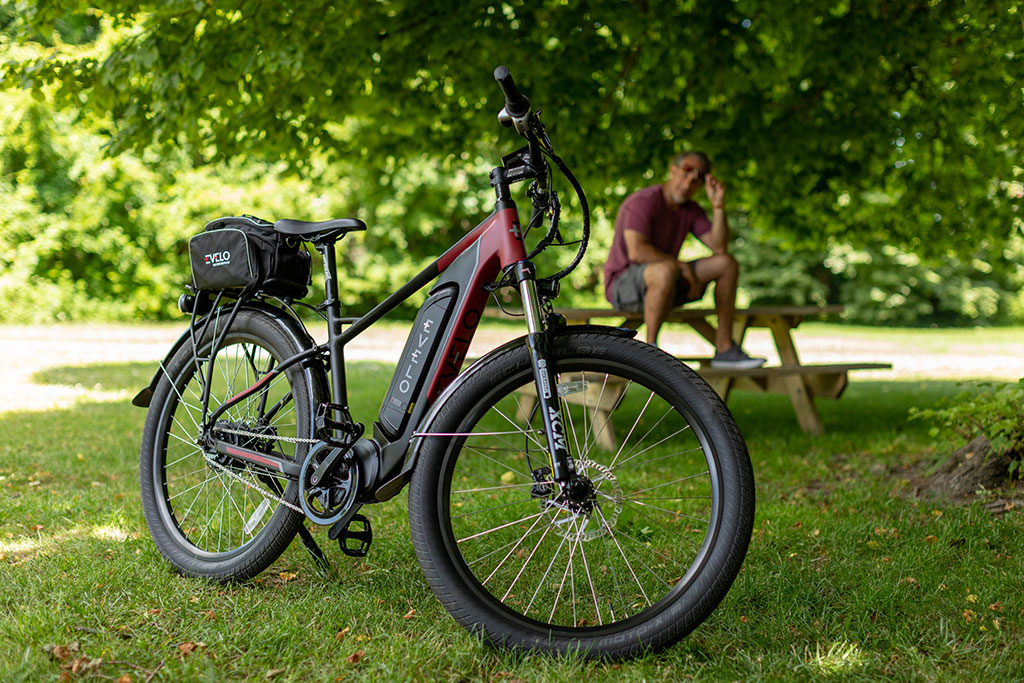 The amazing Delta X mid-drive electric bike.