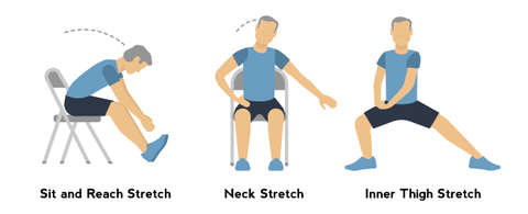 Sit and Reach Stretch Example