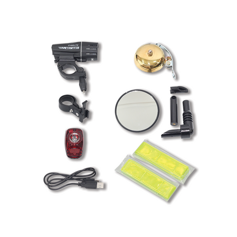 EVELO Ride Safely Accessories Package