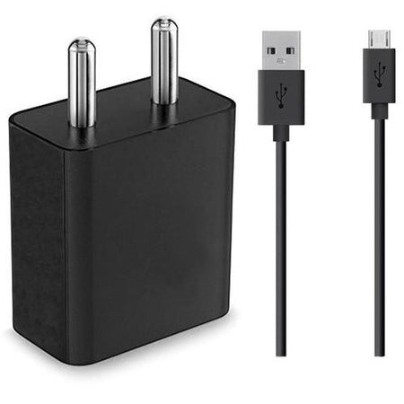 XIAOMI Redmi 4A Mobile Fast Charger 2 Amp With 1.2 Mt Data & Sync Fast Charging Cable(Black)