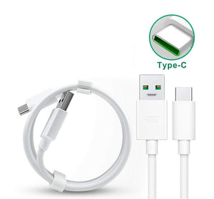 Oppo F17 Vooc Charge And Data Sync Type-C Cable White