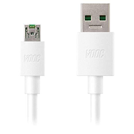 Oppo A57 4 Amp Vooc Charger With Cable-chargingcable.in