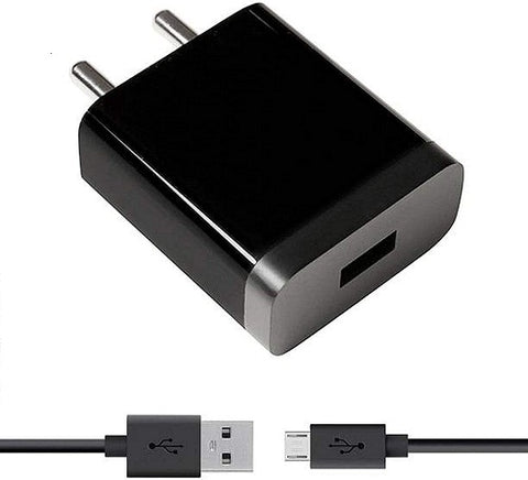 XIAOMI Redmi Note 5 Mobile Fast Charger 3 Amp With 1.2 Mt Data & Sync Cable (Black)-chargingcable.in