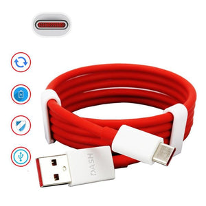Oneplus 6 Dash 4 Amp Mobile Charger With Dash Type C Cable Red-chargingcable.in