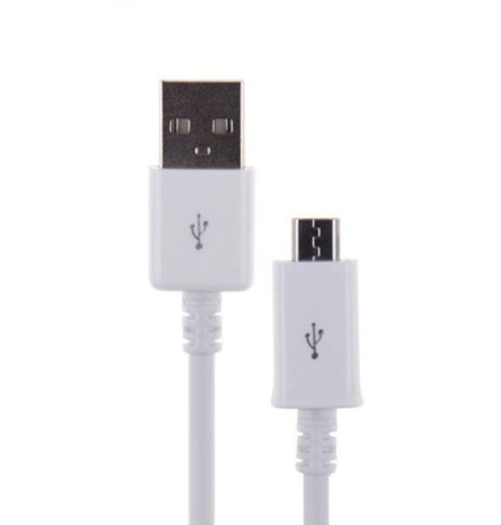 Samsung A2 Core Data Sync And Charging Cable-1M-White-chargingcable.in