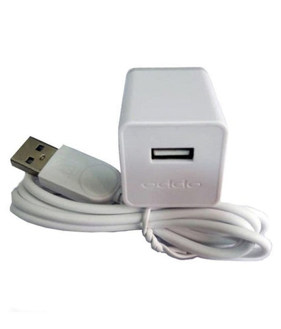 Image of OPPO A37 2Amp Vooc Charger with Cable-chargingcable.in