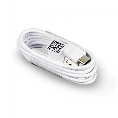 Image of Samsung Galaxy M21 Type C Charge And Sync Cable-1M-White-chargingcable.in