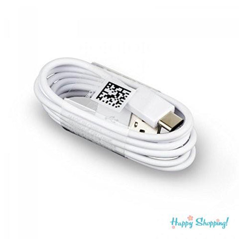 Samsung Galaxy C9 Pro Type C Charge And Sync Cable-1M-White-chargingcable.in
