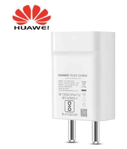 Huawei honor 6X 2Amp Fast Charger With 1.2 Mt Charge And Data Sync Cable (White)-chargingcable.in